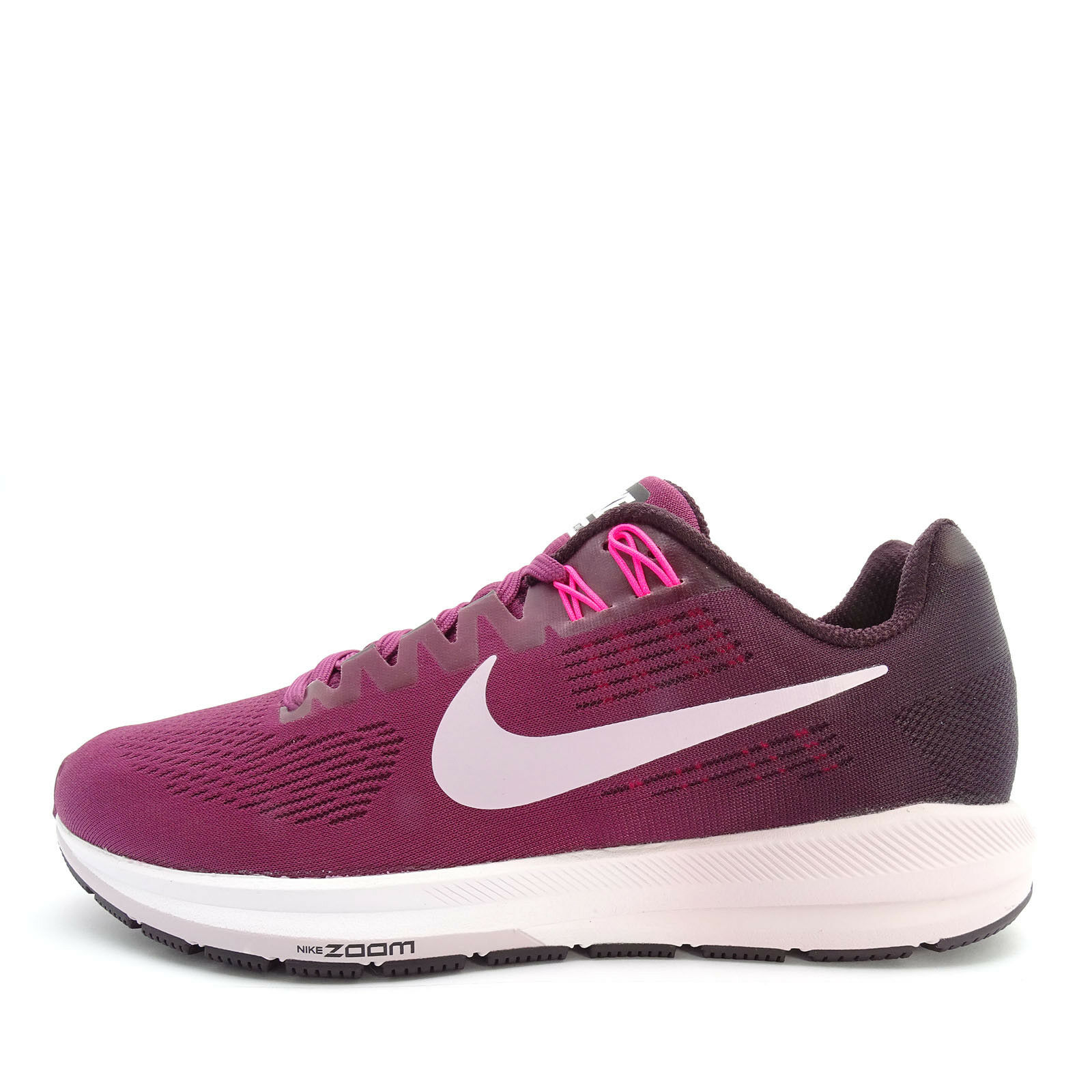 nike w air zoom femmes structure 21 [904701-605] les femmes zoom des chaussures de course thé berry / lilas cd4876