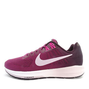 Details about Nike W Air Zoom Structure 21 [904701 605] Women Running Shoes Tea BerryLilac