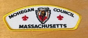Details about BOY SCOUTS MOHEGAN COUNCIL MASSACHUSETTS T4 CSP PATCH NEW