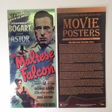 """BREYGENT """"MOVIE POSTERS"""" RARE OVERSIZED FOIL CARD #CMB THE MALTESE FALCON 10.5"""""""