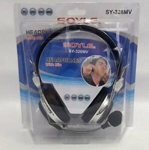 SOYLE-CUFFIE-PER-PC-DVD-MP3-SY-328MV-CON-MICROFONO