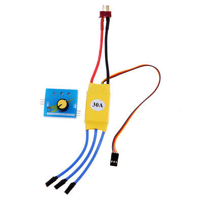 30A RC Brushless Speed Controller ESC Servo Tester for RC Multicopter