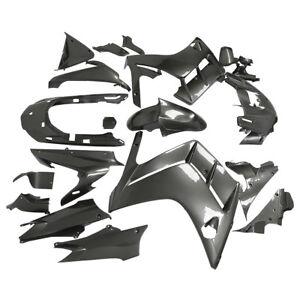 HAND-MADE-Fairing-Bodywork-Set-For-Motorcycle-YAMAHA-FJR1300-01-05-Painted-Gray
