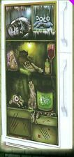 Mouldy Fridge Door Cover Wall Scene Setter Ghostly Halloween Decoration Poster