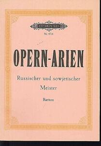 Opernarien-Russischer-und-sowjetischer-Meister-fuer-Bariton-Soldan
