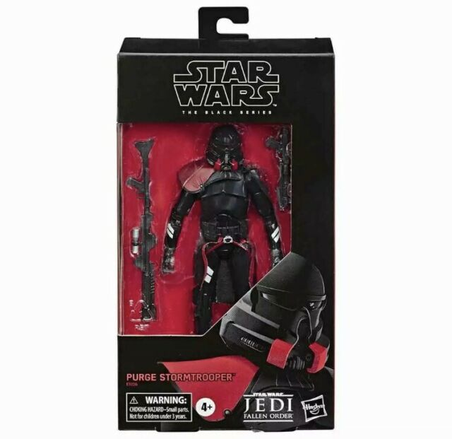 "Hasbro Star Wars The Black Series Jedi Fallen Order Purge Trooper  6"" EXPRESS PO"