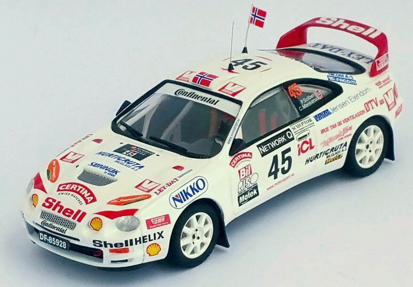 Toyota Celica GT Four - RAC Rally 1998 - Petter Solberg Trofeu RRuk14