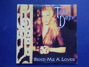 Taylor-Dayne-Send-me-a-lover-2-track-rare-1993-Australian-Cardboard-sleeve-CD