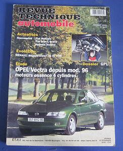 100% De Qualité Revue Technique Automobile Rta 614 Opel Vestra Depuis Mod. 96 Essence 4 Cyl.