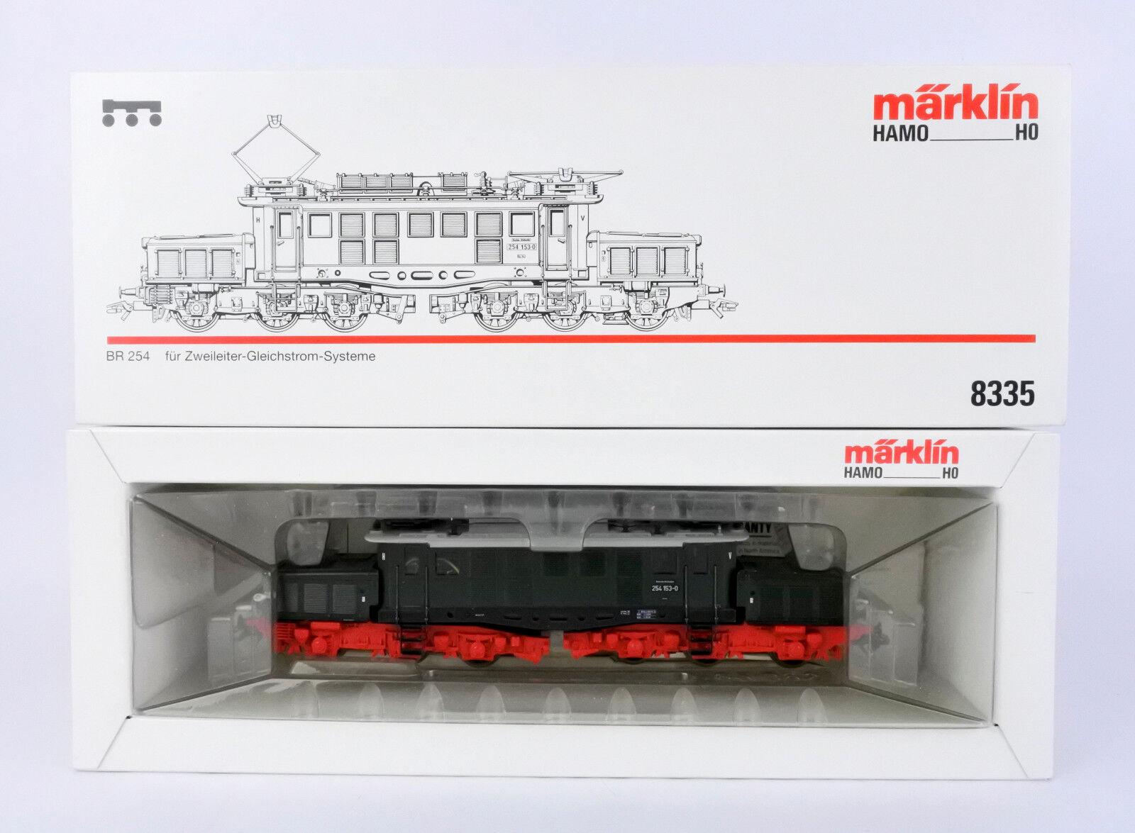 MARKLIN / HAMO HO SCALE 8335 verde BR BR BR 254 CROCODILE ELECTRIC ENGINE DC 2-RAIL c5b606