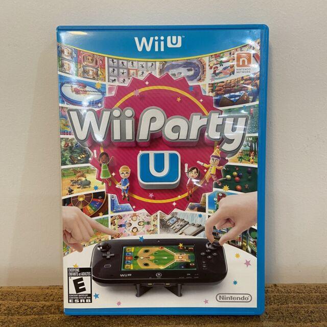 Wii Party U (Nintendo Wii U, 2013) Rare Tested Disc