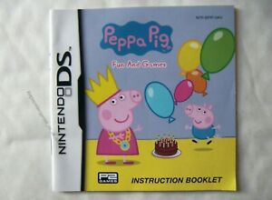 54978-Instruction-Booklet-Peppa-Pig-Fun-And-Games-Nintendo-DS-2010-NTR-BPI