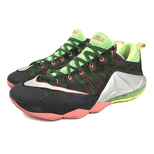 Nike Lebron XII 12 Low Remix Hot Lava Mens Shoes 7