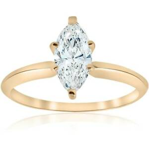 14-kt-Yellow-Gold-1-ct-Marquise-Enhanced-Diamond-Engagement-Solitaire-Ring