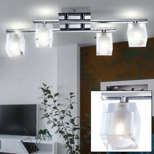 Détails sur Design Glas-Würfel Lumière de Plafond Couloir Bureau Lampe  Cuisine Grand