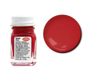 Testors 1 4oz Flat Red Enamel Model Paint 1150tt Tes1150t Ebay
