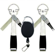 4 in1 Quick Knot Tying Tool Fly Fishing Clippers Line Cutter Nippers Snip  SG