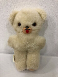 Antique (pre-1930) Imported From Abroad Coccolino Orsetto Orsacchiotto Peluche Dimensione Circa Cm 20,00 Making Things Convenient For The People Dolls & Bears