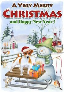 Jack-Russell-Terrier-Dog-A6-4-034-x6-034-Christmas-Card-Blank-inside-by-Starprint