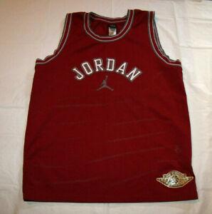 size 40 76be5 253a9 Details about Michael Jordan 20th Anniversary '85-'05 Jumpman Air Jordan  Jersey Youth Large