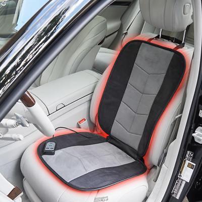 Best Car Seat Cushion >> The Best Heated Car Heat Seat Cushion Pad Black Gray Ebay