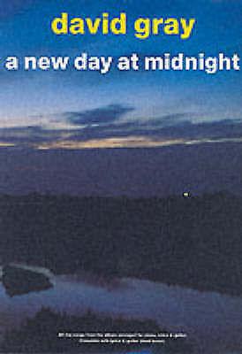 1 of 1 - David Gray, DAVID GRAY A NEW DAY AT MIDNIGHT (PVG), Very Good Book