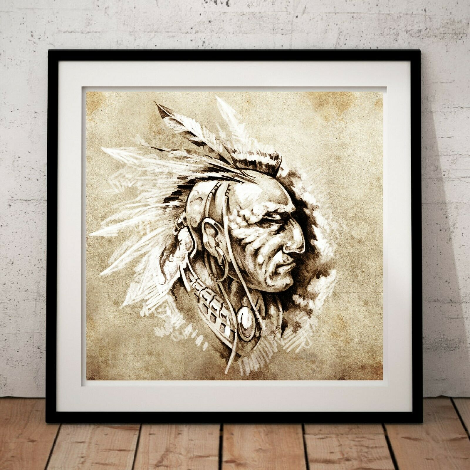 Painting Drawing Tattoo Sketch Native