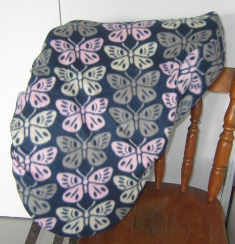Horse Saddle cover in Navy /& Butterflies with FREE EMBROIDERY Made in Australia