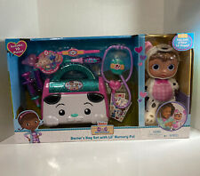 Disney Junior Doc Mcstuffins Toy Hospital On Call Accessory Set 7 Pieces New