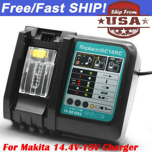 NEW-For-Makita-DC18RC-18V-Lithium-Ion-Optimum-Rapid-Battery-Charger-LXT-BL1830B