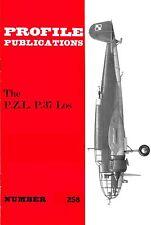 P.Z.L. P.37 LOS BOMBER: PROFILE PUBS #258/ NEW PRINT AUGMENTED FACSIMILE ED