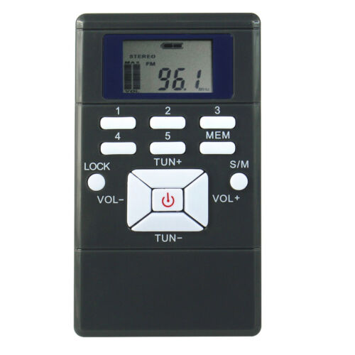 60-108MHz Portable DSP Broadcast News FM Radio Receiver For Walking Leisure RUN