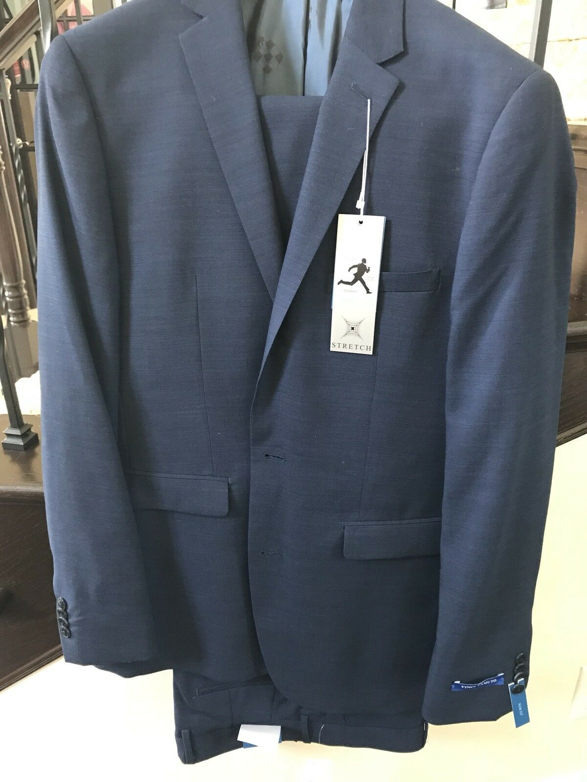 Vince Camuto Suit 40L 33w Slim Fit Nwt Price ROTuction Great deal