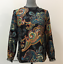2 8 14 J.Crew Silk Twill Top In Bold Paisley NWT Women's Size