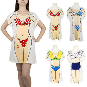 Bikini novelty shirt t