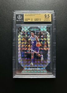 2017-18 Mosaic Prizm De'Aaron Fox Rookie BGS 9.5 True Gem 🔥 Hot 🔥 Future 🌟