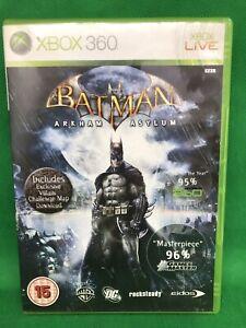 Xbox-360-Batman-Arkham-Asylum-Version-UK-komplett-mit-Handbuch