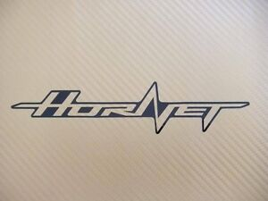 hornet 600 2010 outline track bike or road fairing decals stickers