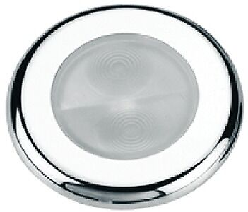 New Santiago 3-led Oval Accent Courtesy Light aqua Signal 16401-7 Cover White Pl