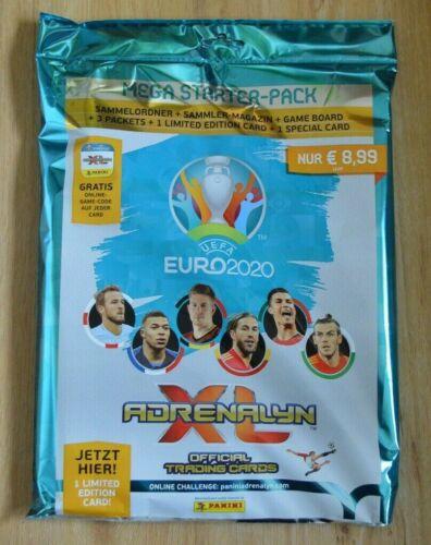 Panini Adrenalyn XL Uefa Euro EM 2020 Starterpack Sammelmappe Limited Edition