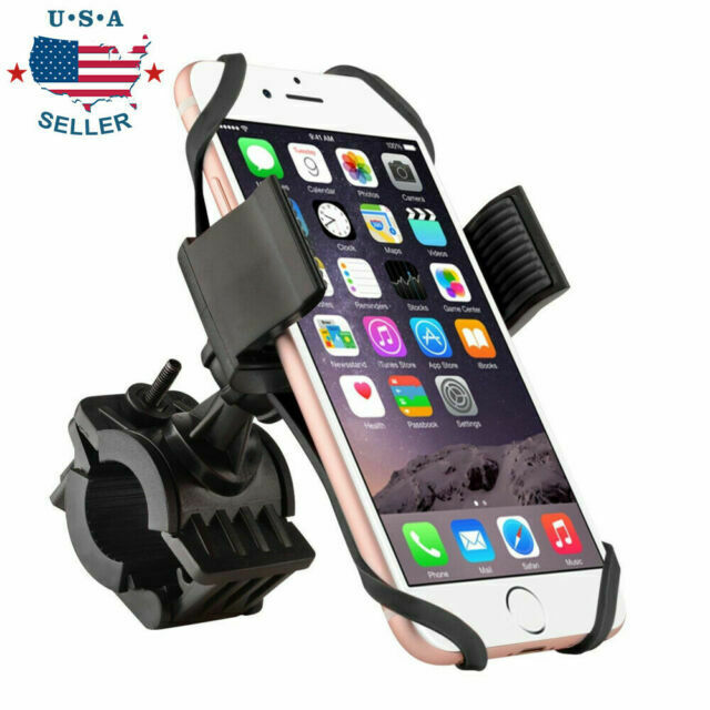 Bike Bicycle Handlebar Stand Mount Holder Universal For Mobile Cell Phone GPS