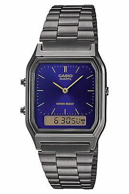 Casio Bracelet Vintage Homme en Acier Aq 230egg 2aef Montre  XxHhW