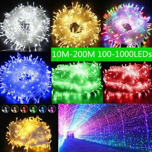 LED-Christmas-Light-Wedding-Party-Holiday-Xmas-Decor-Fairy-String-Lights-US-Plug