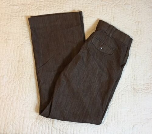 Gap Brown Waistband patta No Tasche Stretch Pantaloni Donna Taglie 32x31 con Lee 0UwqdpU