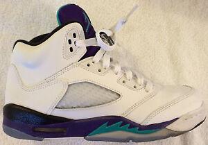 9444eb1b182b Jordan Grapes Shoes Retro 440888-108 Boys 6.5Y Excellent Condition ...
