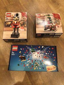 Lego 40254 Casse-Noisette Noël 40223 Snowglobe 40253 24 En 1