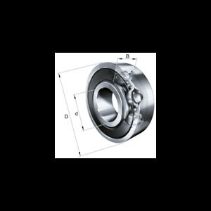 Cuscinetto a sfere 10x26x8 6000-C-2HRS-C3 FAG