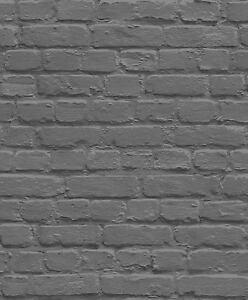 BLACK-SILVER-GREY-WALL-BRICK-WALL-UGEPA-QUALITY-FEATUR-DESIGNER-WALLPAPER-L22629