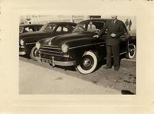 PHOTO ANCIENNE - VINTAGE SNAPSHOT - VOITURE AUTOMOBILE RENAULT FRÉGATE DRÔLE-CAR