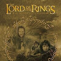 Lord Of The Rings - 2017 Wall Calendar